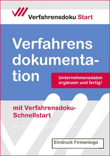 Verfahrensdoku-Schnellstart: Logoeindruck Geschenkmappe