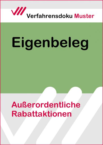 Außerordentliche Rabattaktionen