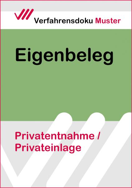 Privatentnahme / Privateinlage