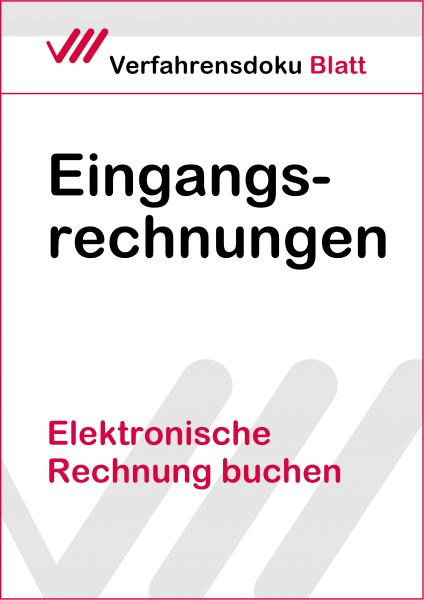 Elektronische Rechnung buchen