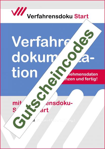 Verfahrensdoku-Schnellstart: Gutscheincodes
