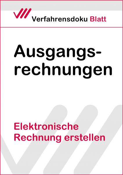 Elektronische Rechnung erstellen